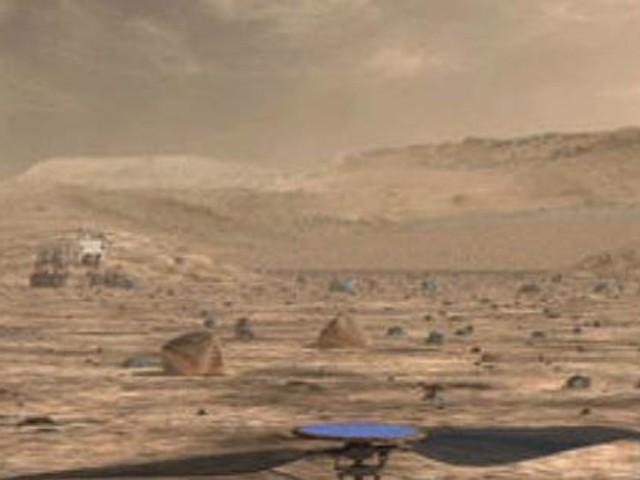 Helikopter auf dem Mars startet später