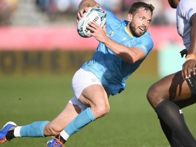 Uruguay holt gegen Fidschi den dritten Sieg bei einer Rugby-WM