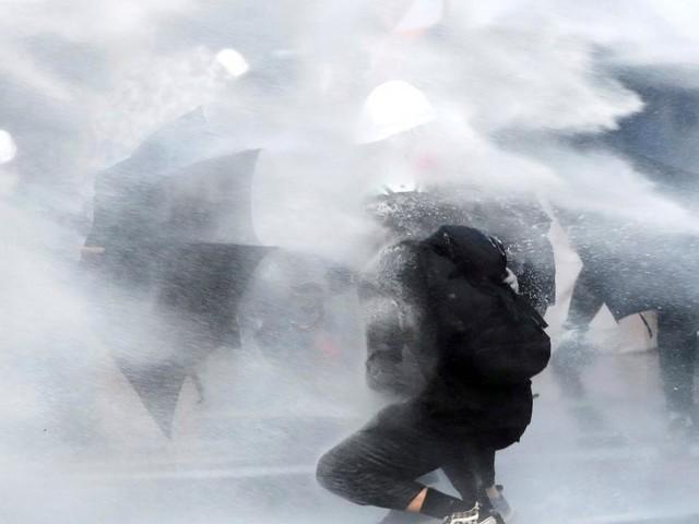 Hongkong: Scharfe Munition gegen Demonstranten