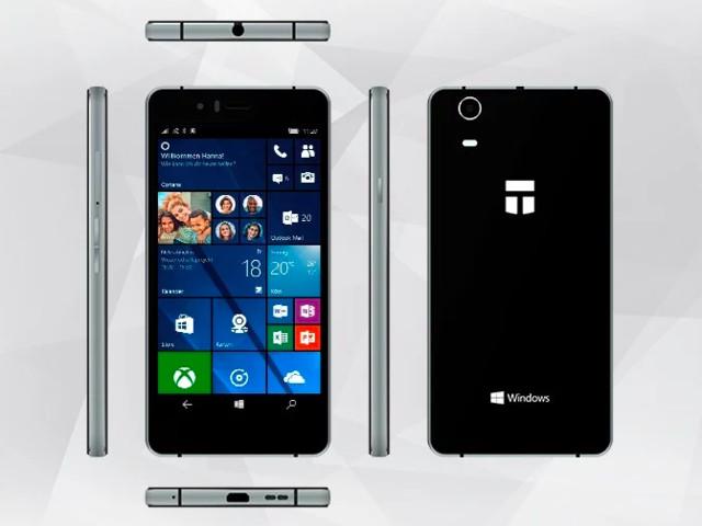 Trekstor Winphone 5.0: Windows Smartphone im Crowdfunding