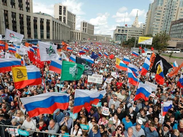 Opposition: Mahnwachen in Moskau für Freilassung Gefangener und ehrliche Wahlen