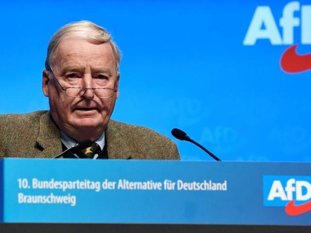 Parteitag in Braunschweig: Gauland will einen Jüngeren an der AfD-Spitze - aber keinenKurswechsel
