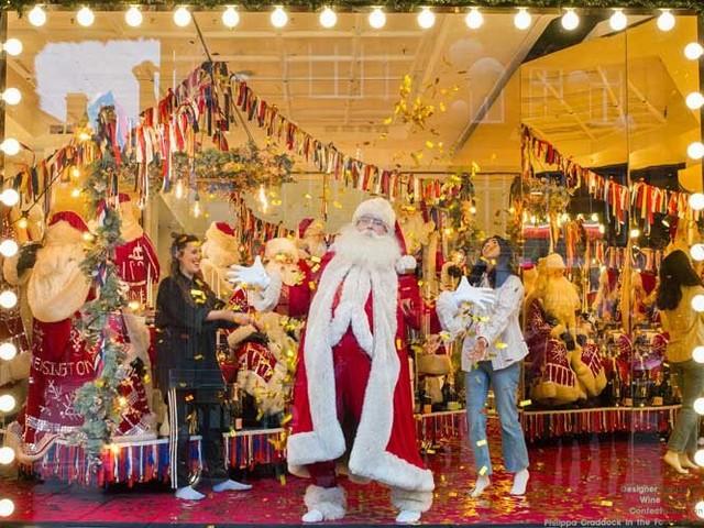 Die besten Weihnachtsschaufenster weltweit