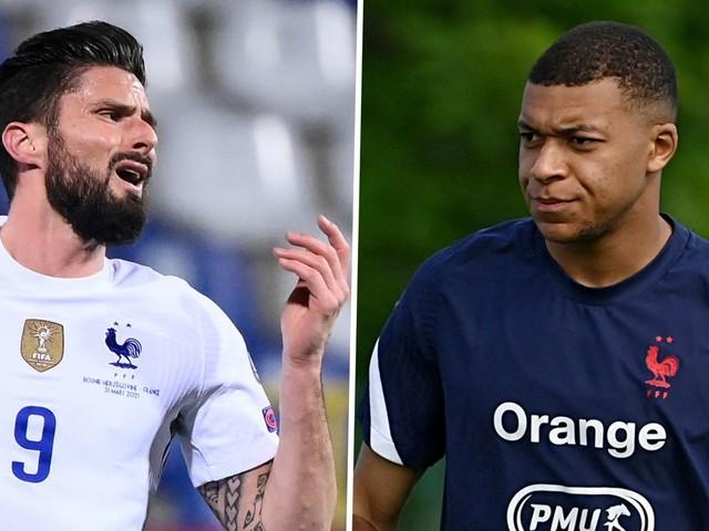 """Kylian Mbappe über Konflikt mit Olivier Giroud: """"War davon betroffen"""""""