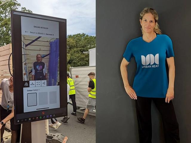 Das Potential die Mode und E-commerce Branche zu revolutionieren - die erste Version einer App für Virtuelle Anprobe vom Münchner Startup URBAN HEAT
