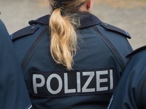 Polizei hilft Schafherde über die Straße