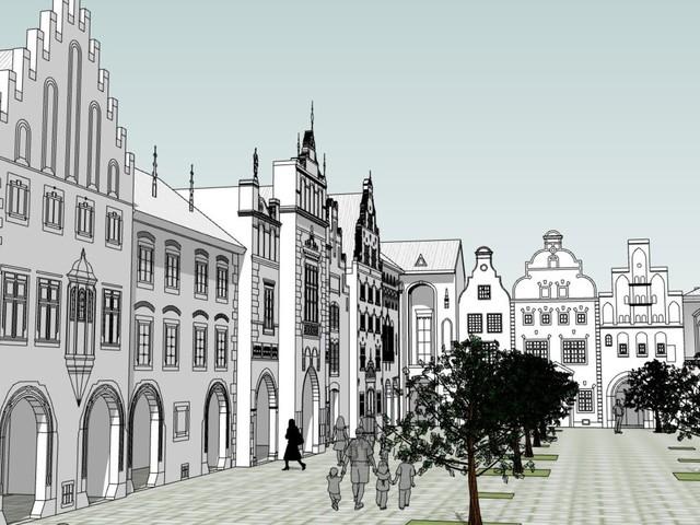 """Hansa-Park startet 8. Bauabschnitt der Themenwelt """"Hanse in Europa"""" mit sechs neuen Fassaden"""