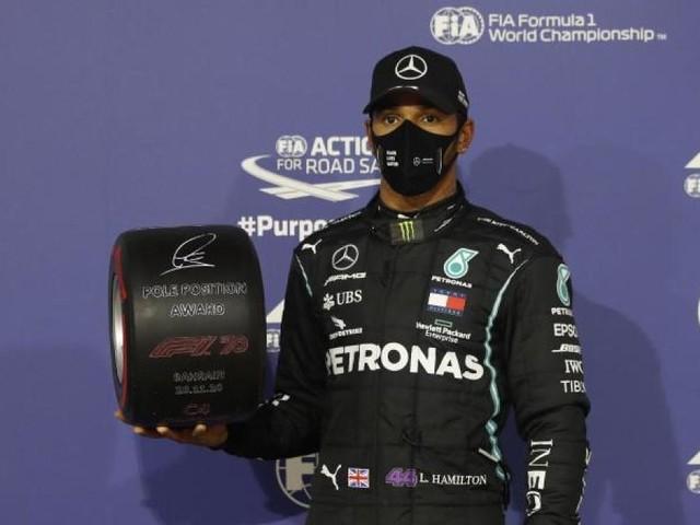 Feuer-Unfall beim Formel-1-Rennen in Bahrain überschattet Sieg von Hamilton