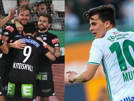 Bundesliga Österreich: Meistergruppe findet ohne Rapid statt - Sturm rückt auf Rang drei vor