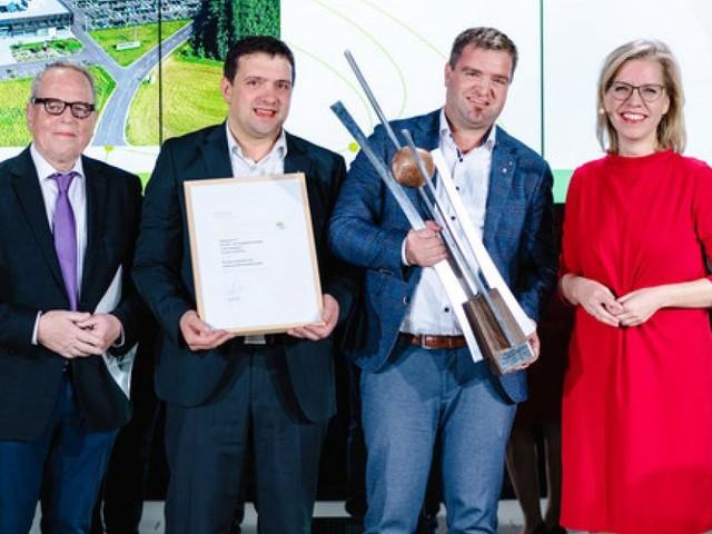 Hargassner gewinnt Staatspreis in der Kategorie 'Umwelt, Klima und Energie'