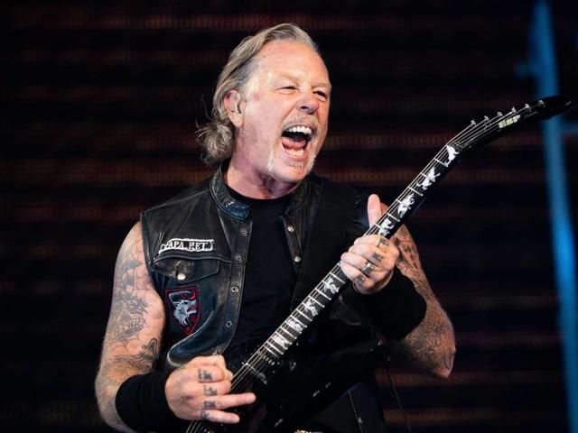 Video: Live-Comeback von Metallicas James Hetfield