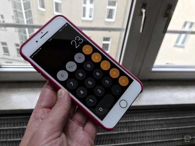Flinke Finger aufgepasst: Taschenrechner in iOS 11 lahmt