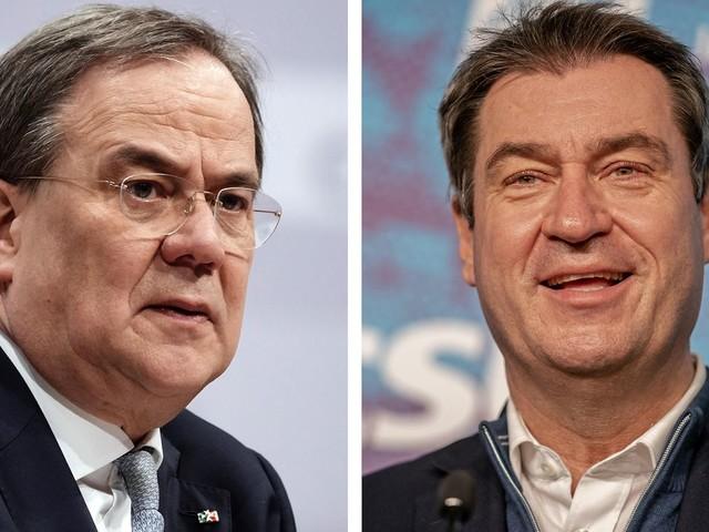 CDU-Kanzlerkandidatur: Sonnenkönig vs. König ohne Land: Für die Bürger ist das Duell Söder gegen Laschet entschieden