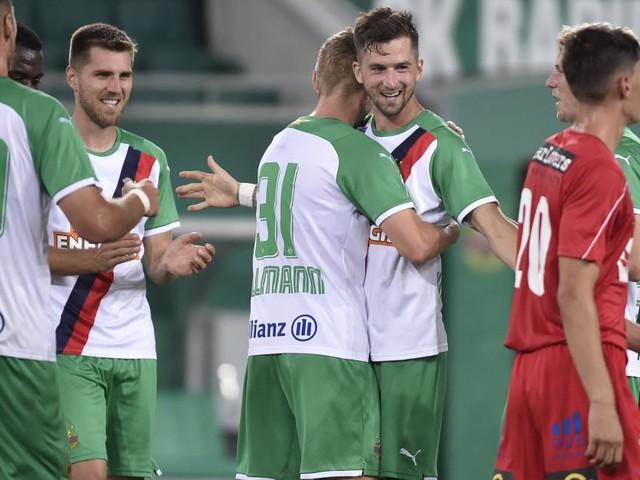 Partystimmung in Hütteldorf beim Cup-Sieg von Rapid gegen Viktoria