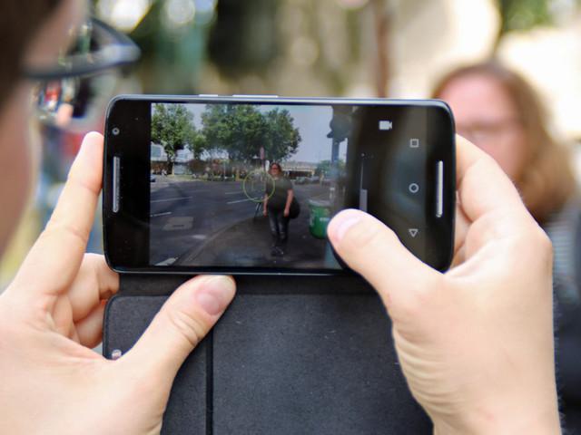 Gesichtserkennung per Smartphone