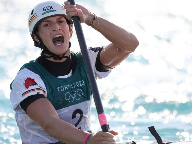 Olympia 2021: Slalom-Kanutin Ricarda Funk holt erstes Gold für Deutschland