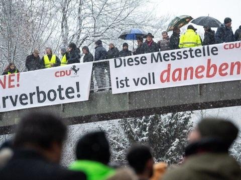 Erneute Demonstration gegen Diesel-Fahrverbote