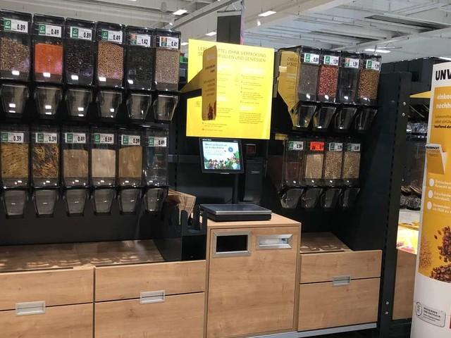 Weniger Plastik: Kaufland zieht Unverpackt-Stationen in Filialen hoch