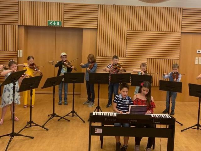 Musikschule konzertiert für den Regenwald