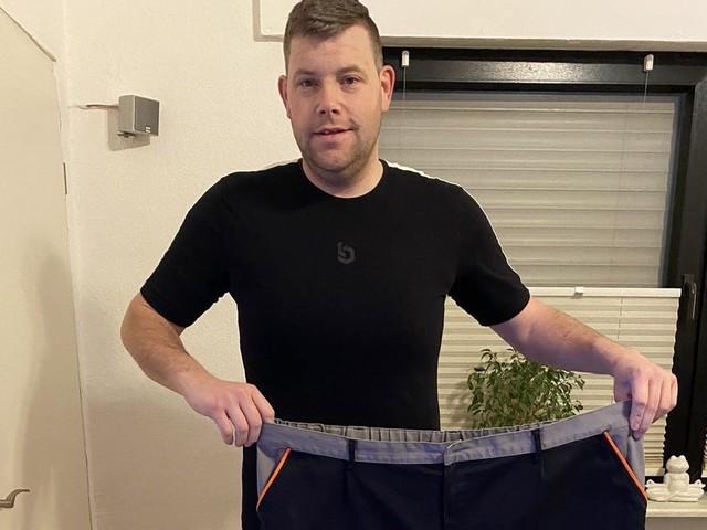 Sebastian Micheel wog 205 Kilogramm – jetzt will er einen Halbmarathon laufen