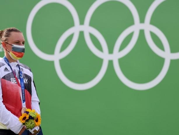 Olympia 2021: Slalomkanutin Andrea Herzog fährt gelassen zu Bronze
