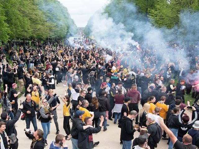 4:0 gegen Türkgücü München - Dynamo Dresden macht den Aufstieg in die 2. Liga perfekt