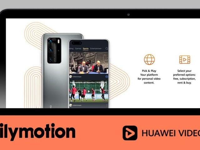 Huawei setzt auf Dailymotion statt auf YouTube