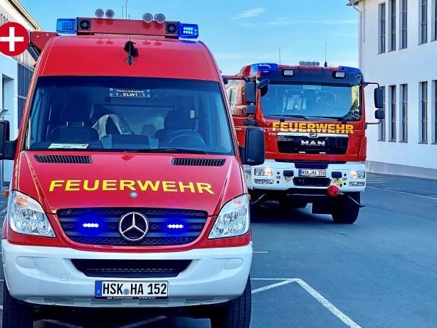 Einsatz: ABC-Alarm in Hallenberg: Feuerwehr eilt zu Möbelfirma Kusch