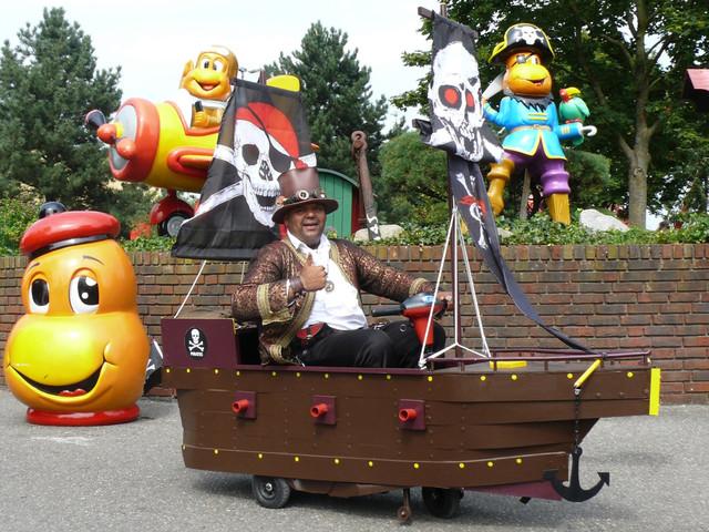 Kernie's Familienpark veranstaltet Piratentag 2017 am 25. Juni