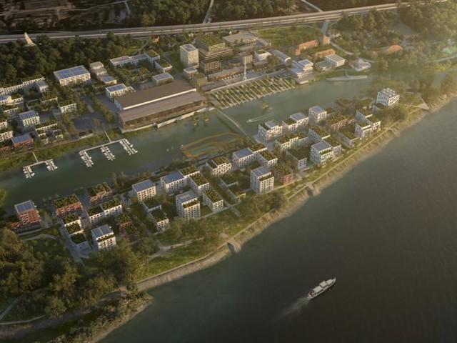 Riesenprojekt soll alter Werft in Korneuburg neues Leben einhauchen
