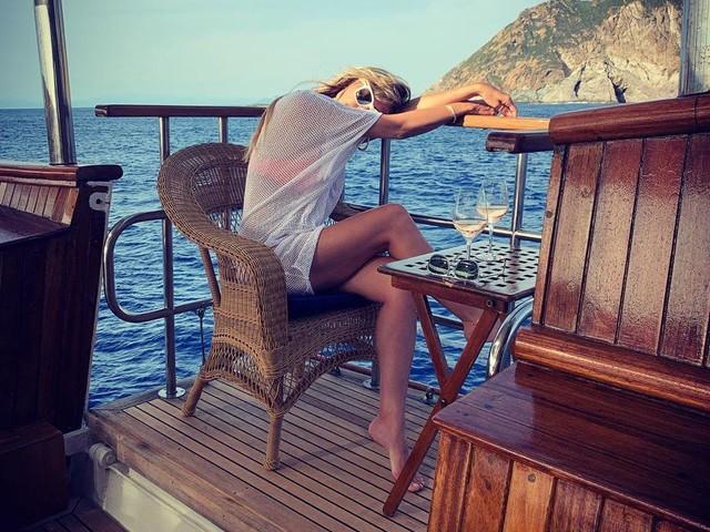 Heidi Klum + Tom Kaulitz: Ihre Flitterwochen in Bildern