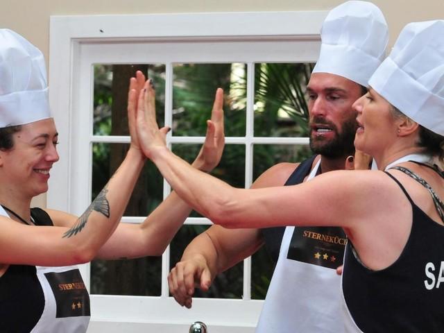Leila, Bastian und Sandra sorgen für einen Staffelrekord