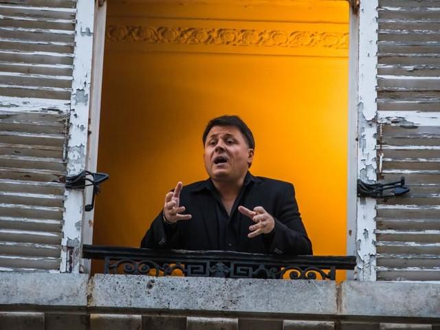 Wenn die Arie in Zeiten von Corona vom Balkon schallt