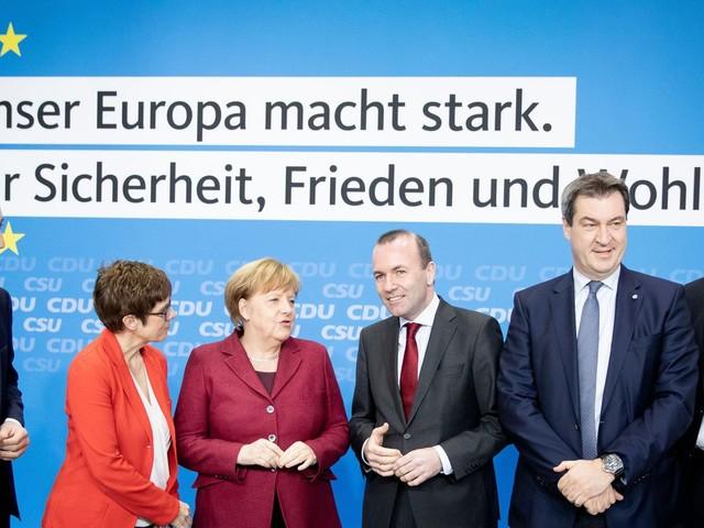 EU: CDU und CSU legen Europa-Wahlprogramm fest