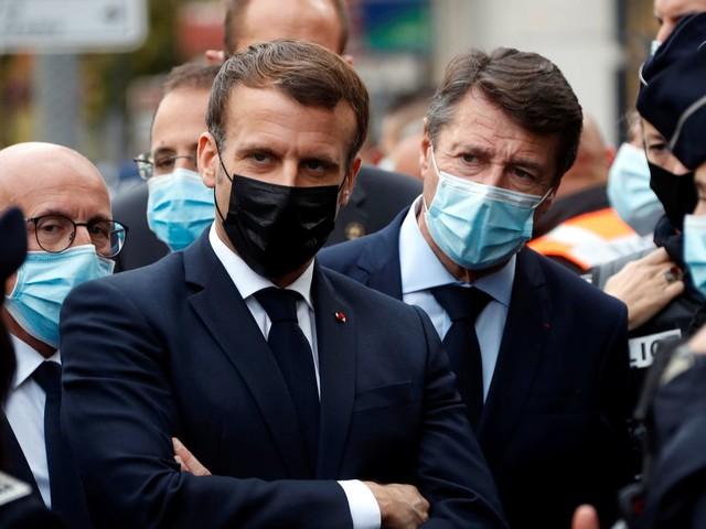 """Nizza: Emmanuel Macron verurteilt """"islamistischen Terror-Anschlag"""""""
