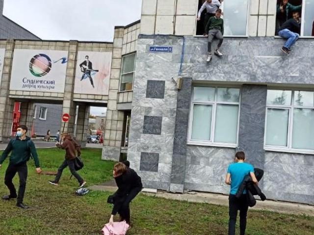 Mehrere Tote nach Amoklauf an russischer Universität