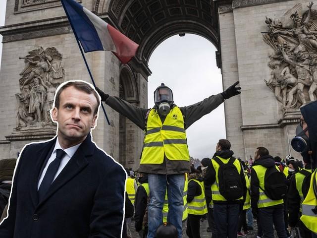 """Wie Macron die Wut von Frankreichs """"Gelbwesten"""" besänftigen will"""