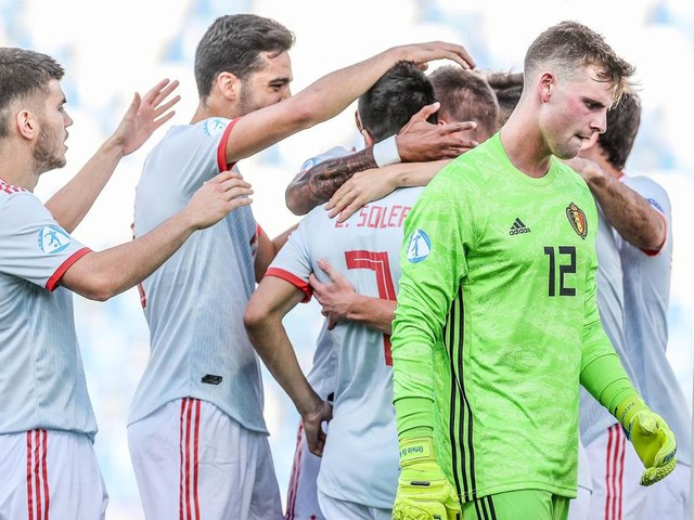 Spanien hat nach Sieg gegen Belgien Hoffnung aufs Halbfinale