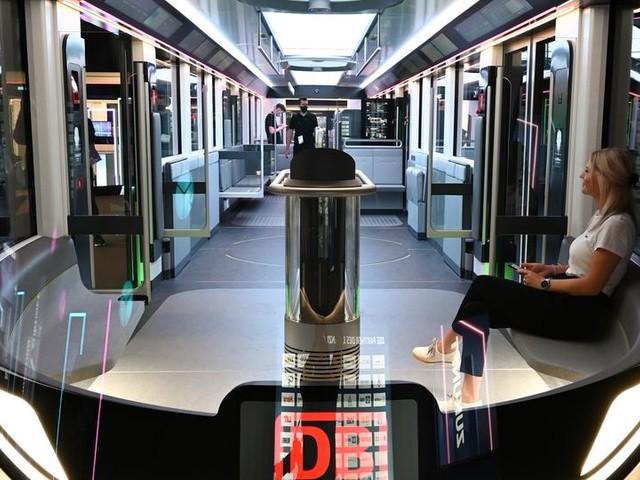 So könnte die S-Bahn der Zukunft aussehen: Sitze auf Knopfdruck und Fußball-Farben