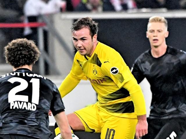 Dortmund in der Krise - BVB im Sturzflug, doch Mario Götze hat nur Komplimente für Trainer Bosz
