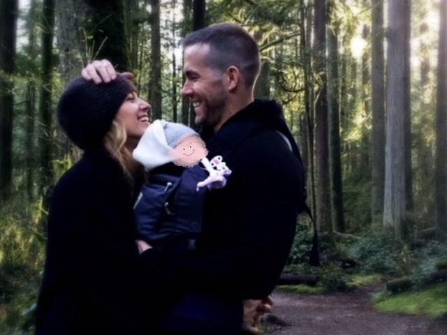 Wie putzig: Ryan Reynolds und Blake teilen erstes Baby-Bild!