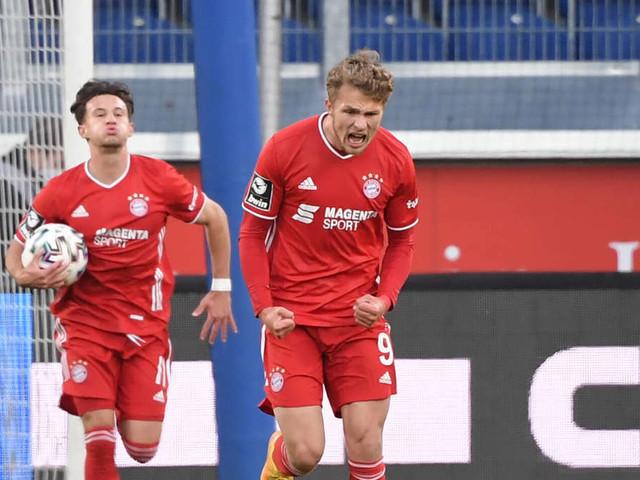 Video: FC Bayern II bleibt auf Abstiegsplatz - Arp rettet einen Punkt