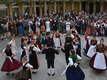 Empfang für Delegierte des Bayerischen Trachtenverbandes