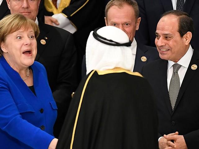 Merkel trifft Arabische Liga: Auf der heimlichen Agenda stehen vor allem EU-Themen