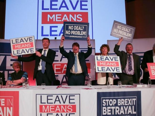 Raus aus Europa, mit allen Mitteln: Der Plan der Brexiteers