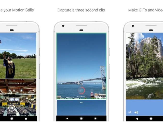 Motion Stills: Neue Google-App erstellt GIFs und kleine Videos