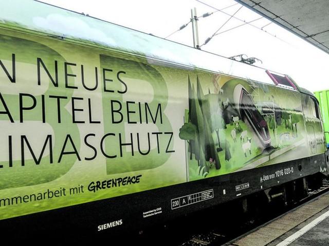 Ein schöner Zug für den Umweltschutz