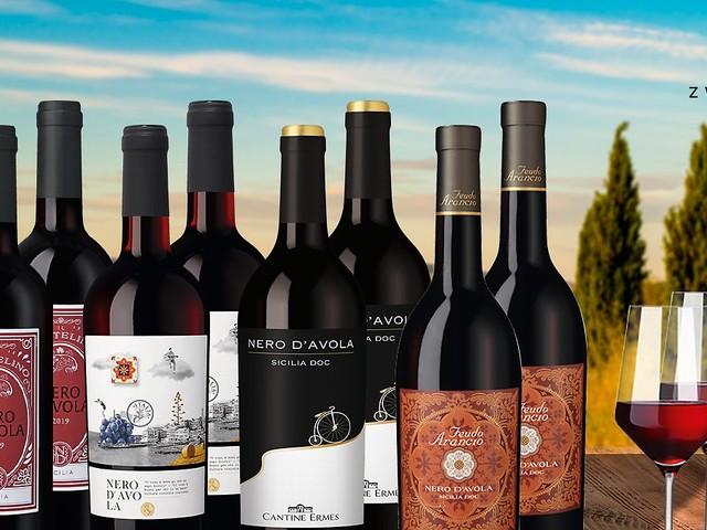 Exklusives Angebot: 49 Prozent sparen bei Rotwein-Paket aus Sizilien