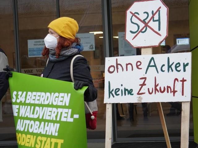 Gegner wollen in St. Pölten S34 mit Unterschriften stoppen