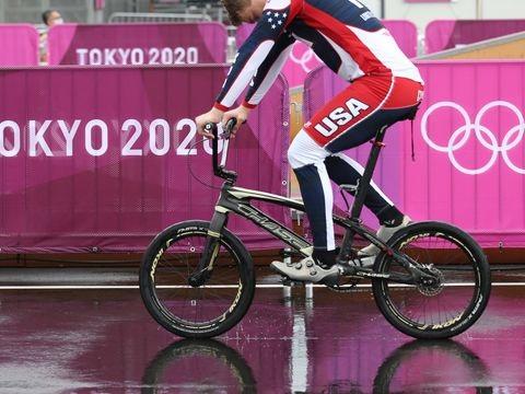Olympia: Schwere Stürze überschatten BMX-Rennen